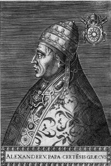 , Ο Κρητικός που έγινε Πάπας