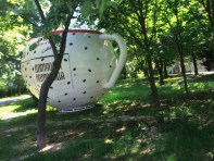 Random giant coffee cup