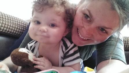 Mumma and bubba play