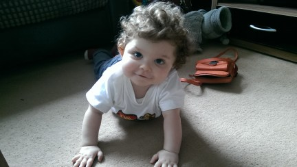 My little man getting stronger