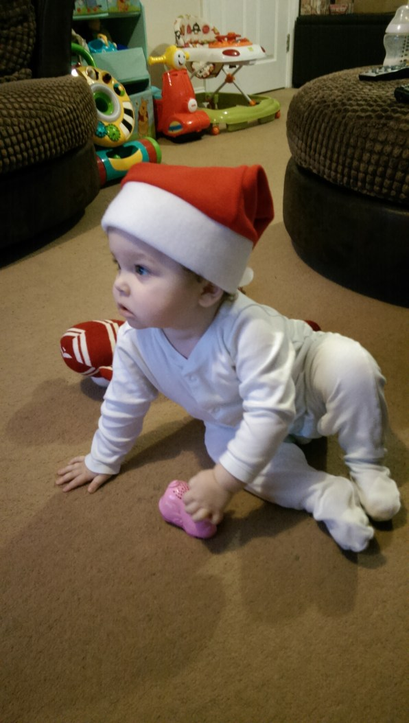 Cutest Santa ever?!