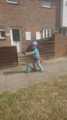 Scooting!