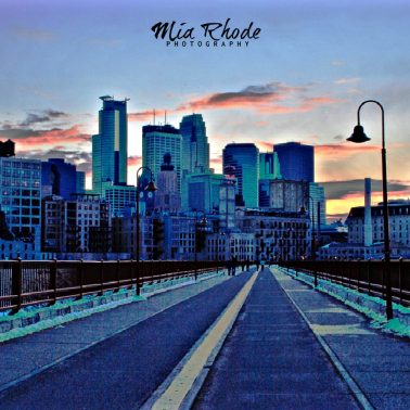 Stone Arch Bridge - Downtown Minneapolis, Minnesota