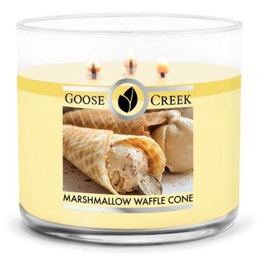 goosecreek marshmallow waffle cone candle