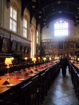 The hall that inspired the Great Hall in the Harry Potter films