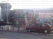 qalandia check point, ramallah