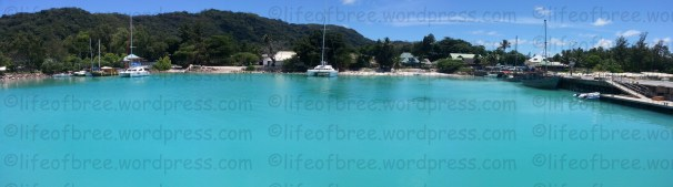Baie St Anne Jetty, Praslin island, Seychelles