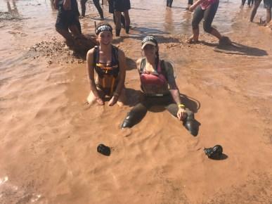 Bard wire crawl through mud