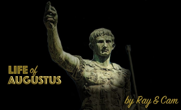 life of caesar-augustus art
