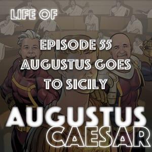 augustus caesar sicily 22 BCE