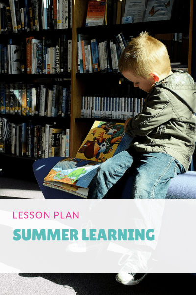 Lesson Plan Summer Learning