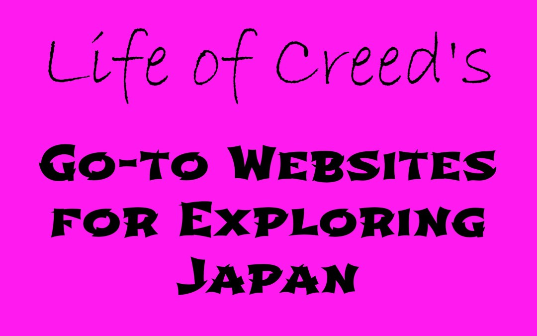 My Go-to websites for exploring Japan
