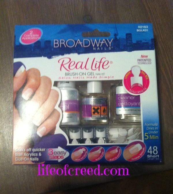 DIY Broadway Nails Real Life Brush-On Gel Nail Kit