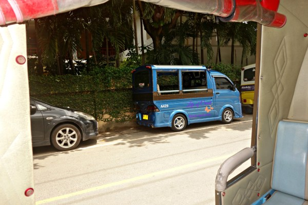 Getting around phuket, thailand, tuk tuk