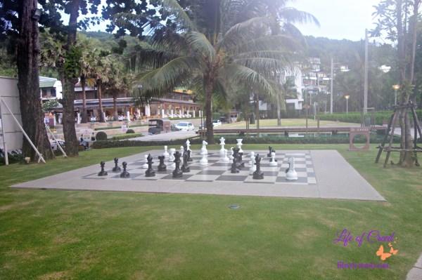 Chess, Katathani Hotel, Thailand, Phuket