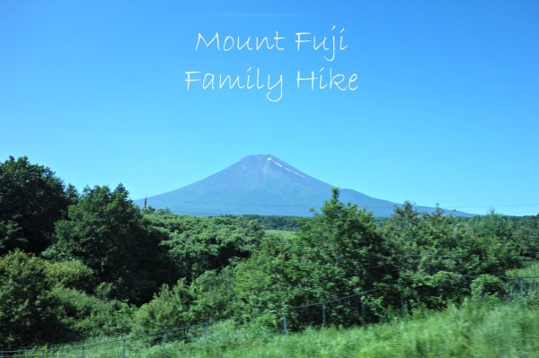 mount fuji family hike