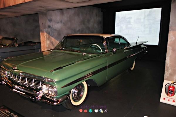 History Garage in Tokyo Japan. Chevrolet Impala.