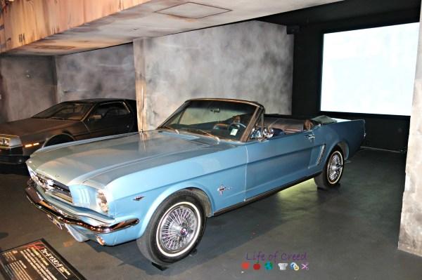 History Garage in Tokyo Japan. Ford Mustang.