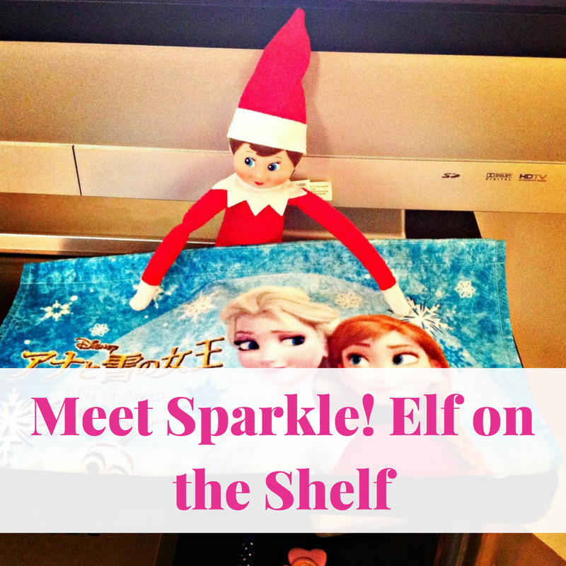 Meet Sparkle! Elf on the Shelf