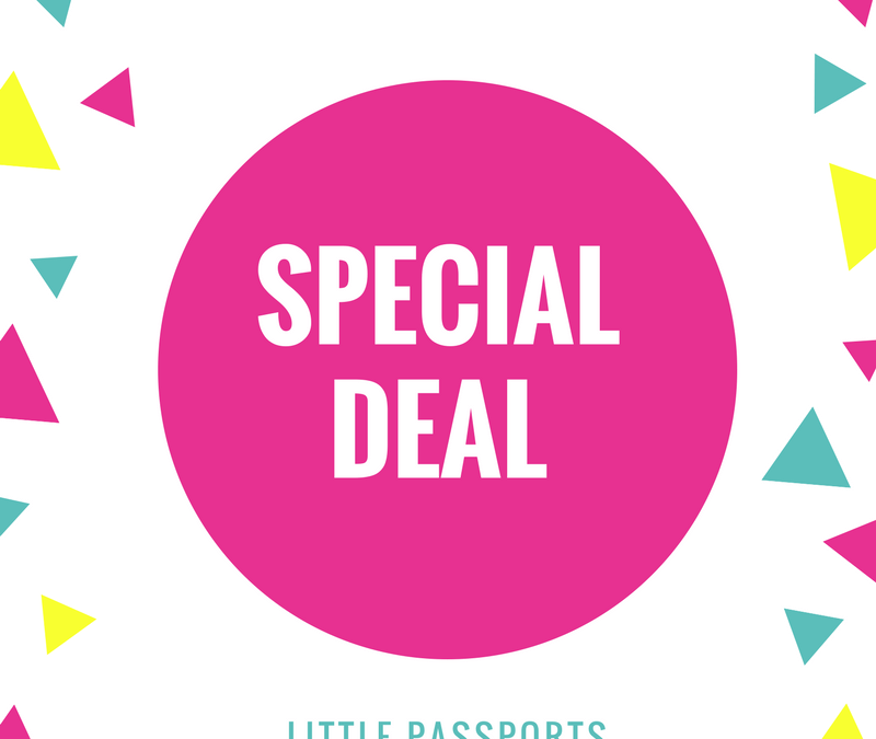 Special Deal: Little Passports Sweet Deal – 10% Off Site-wide