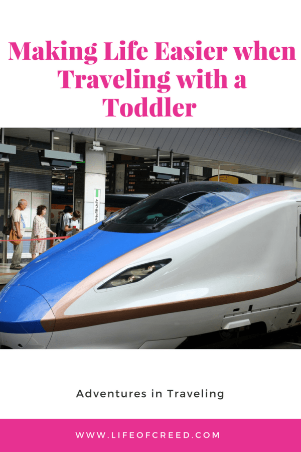 Making Life Easier when Traveling with a Toddler