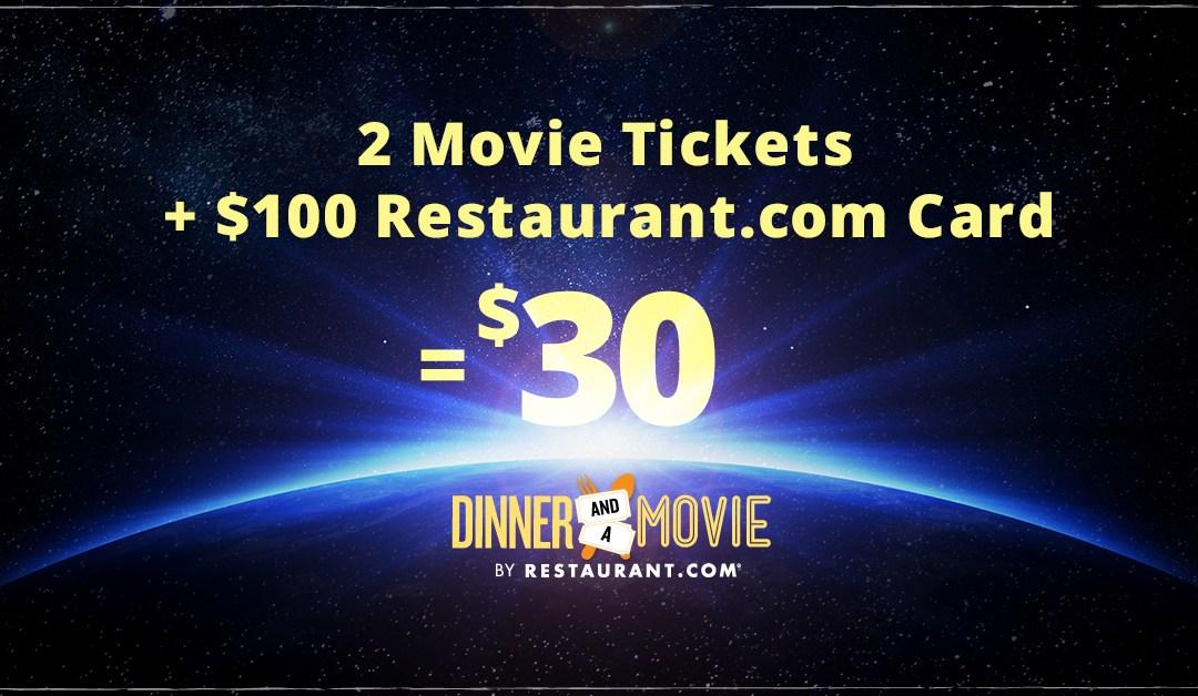 Restaurant.com Presents Dinner & a Movie