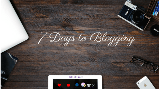Start a Blog in 7 Days