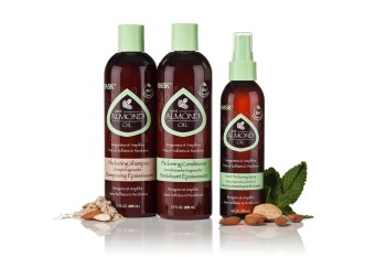 HASK Mint Almond Oil Thickening Hair Care Collection | Review via lifeofcreed.com