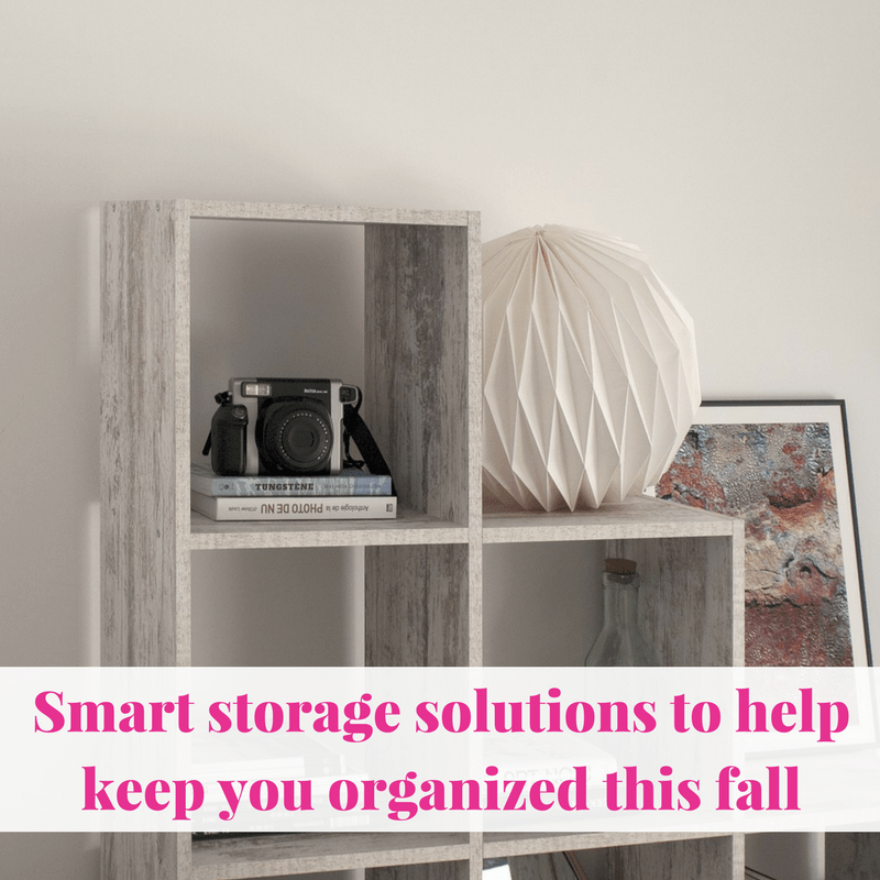 Smart Storage Solutions To Help Keep You Organized This Fall   Life Of Creed