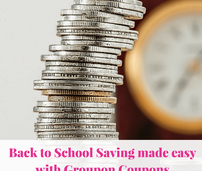 Back to School Saving made easy with Groupon Coupons