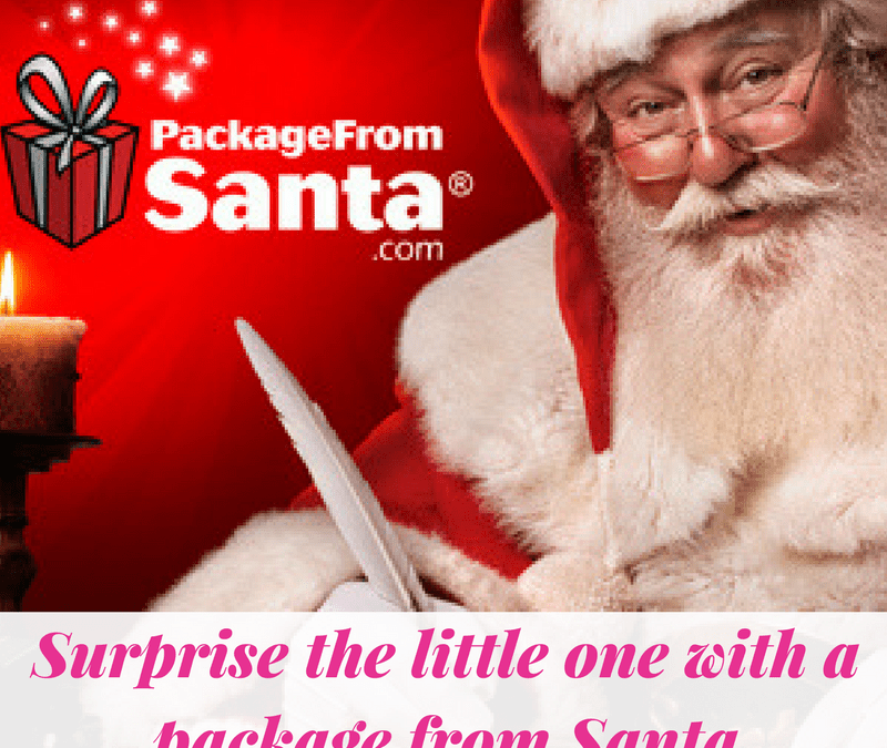 Surprise the little one with a package from Santa