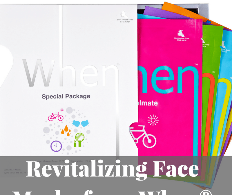 Revitalizing Face Masks from When®