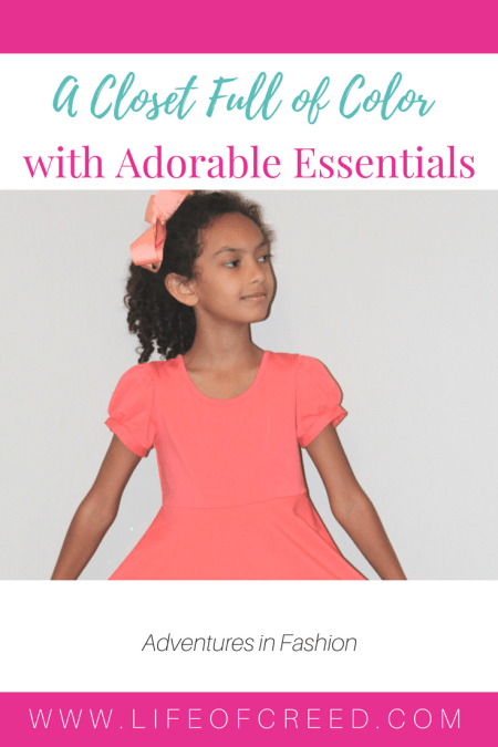 "Adorable Essentials has been providing cute and adorable clothing for children for 5 years and counting. The motto is ""We believe in a closet full of color""."