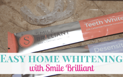 Easy Home Teeth Whitening + GIVEAWAY
