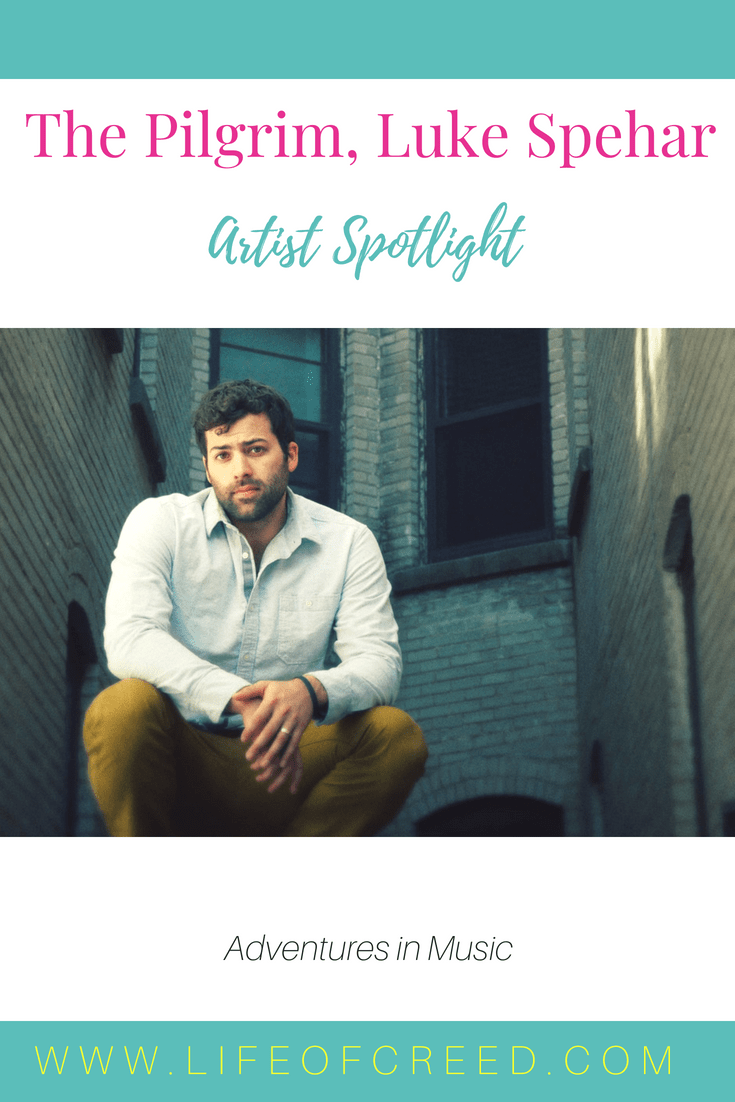 """The acoustic album The Pilgrim by Luke Spehar is beautifully done. You hear the talent he possess soon as you listen to the first song, """"The Farmer""""."""