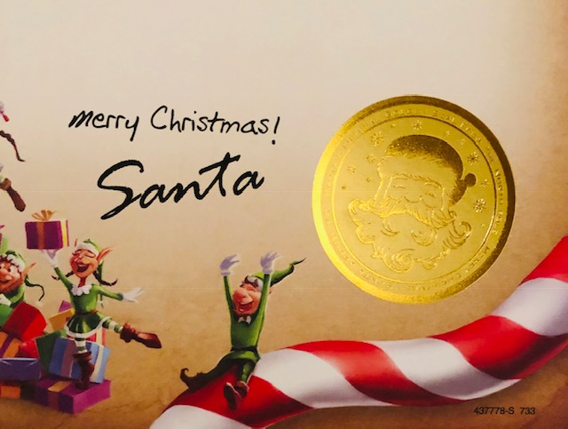 Package from Santa is the nation's #1 Santa letter service.