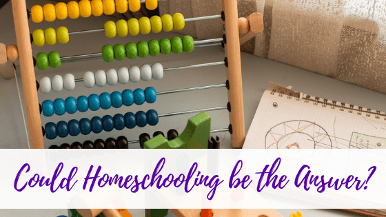 Could Homeschooling be the Answer?