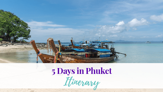 If you are looking for ideas to help with planning your family trip, couples trips, girls trip, or just a solo adventure to Phuket here is our itinerary.