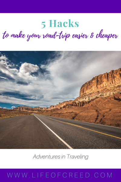 There are two things that often get in the way of a good road trip. One is the expense involved in driving around and staying in a different place every night, and the other is the hassle of plotting a route and figuring out where to stop. Here are five hacks you can use to make your road trip a lot easier.