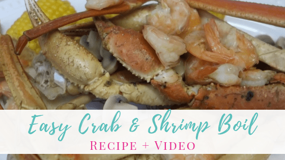 Easy Crab and Shrimp Boil