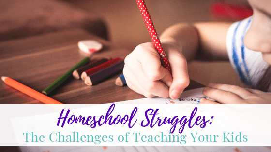 Homeschool Struggles: The Challenges Of Teaching Your Kids