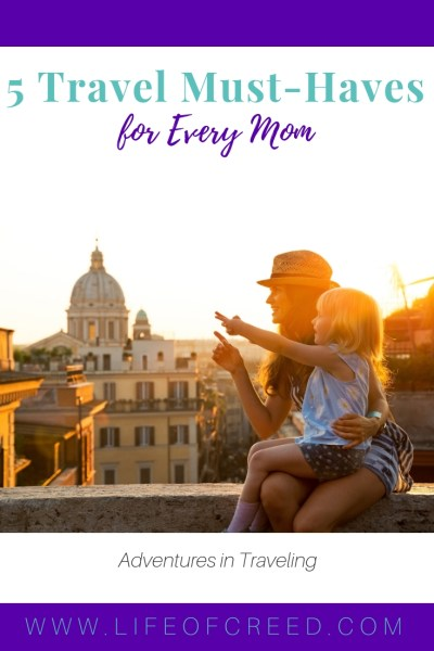 Maybe you have a vacation on the horizon or maybe you're planning for a European escapade with hubby and the kids, no matter what the state of your next vacation is, these travel mommy must-haves should be on your buy-list before you take flight!