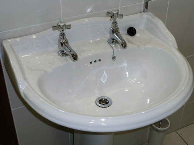 Wall mounted sink. Wall mounted basin. This kind of basin is perfect for the spots, where you have little space to work with or just want the minimalistic design.