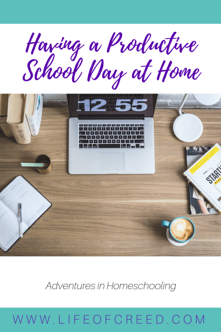 Take a look at some of the simple ways both we can have a more productive homeschool day.