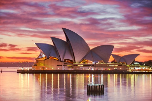 Check out the quay and the Opera house