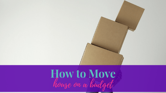 How to Move House on a Budget | Life of Creed