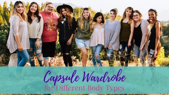 Capsule Wardrobe for Different Body Types | Life of Creed