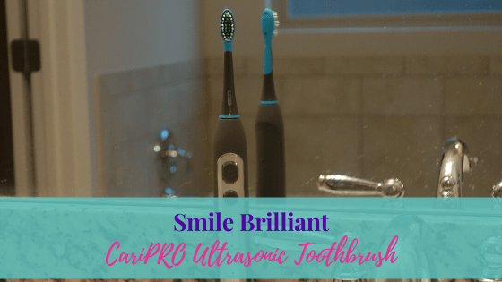 Smile Brilliant CariPro Toothbrush Review + Giveaway