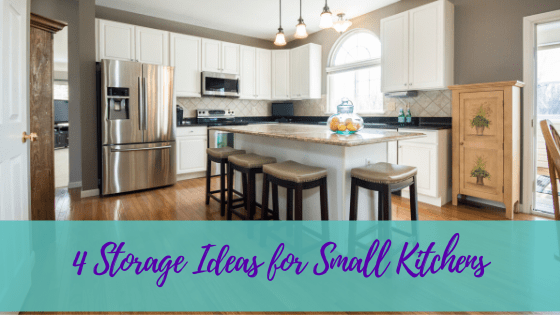 4 Storage Ideas for Small Kitchens