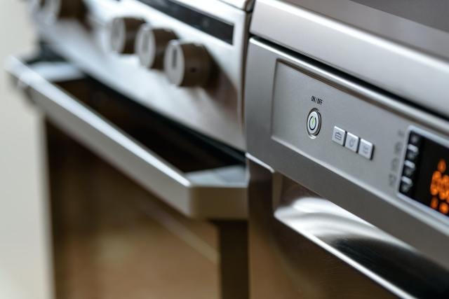 When it comes to material, you should opt for stainless steel as a popular option. It is excellent because it makes color-coordination in the kitchen a lot easier.